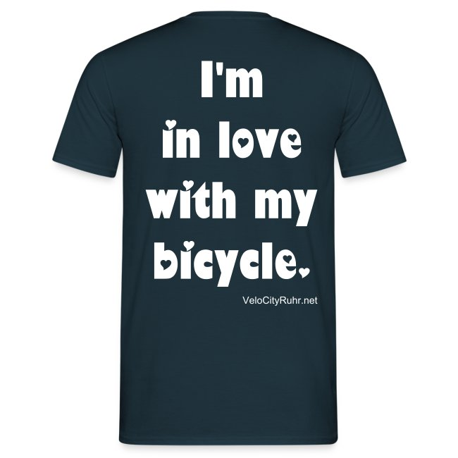 Velo Love - I'm in love with my bicycle. (men)