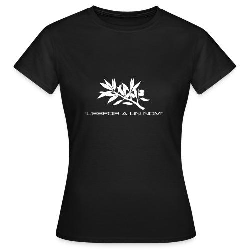T-SHIRT standard femme l'espoir a un nom - T-shirt Femme
