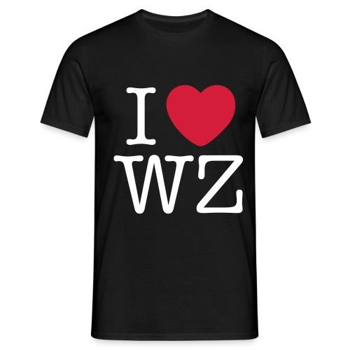 I LOVE WZ T-Shirt schwarz - Männer T-Shirt