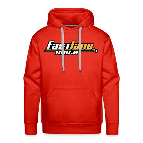 Fast Lane Daily logo Hoodie - Men's Premium Hoodie
