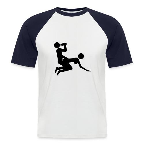 Männertraum - Männer Baseball-T-Shirt