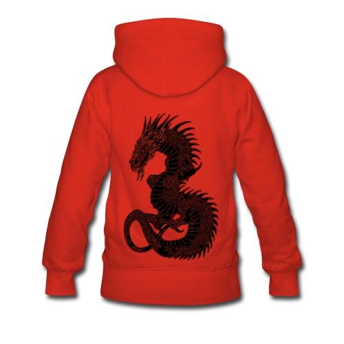 Sweat à capuche femme dragon - Sweat-shirt à capuche Premium pour femmes