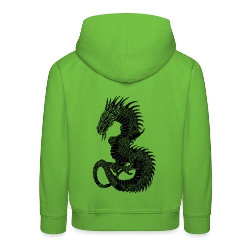 Pull à capuche enfant dragon - Pull à capuche Premium Enfant