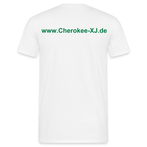 men | T-Shirt classic | XJ page - back - Männer T-Shirt