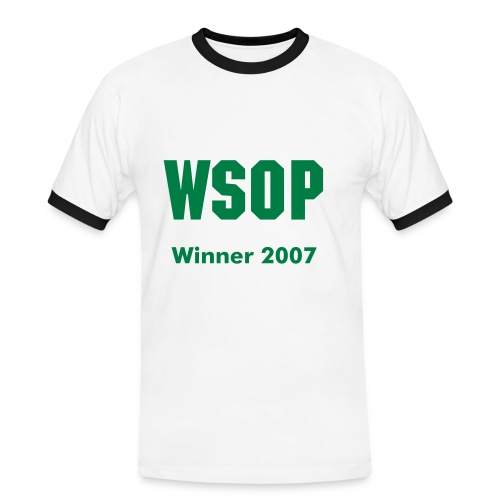 WSOP - Men's Ringer Shirt