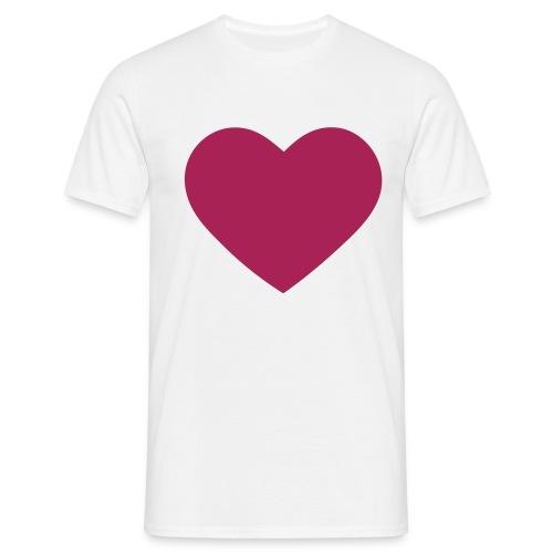 Mein Herz - Männer T-Shirt
