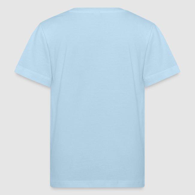 Kinder-Shirt farbig mit Banderole