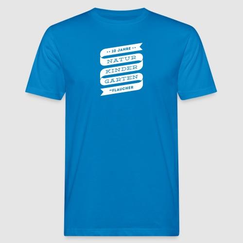 Männer-Shirt farbig mit Banderole - Männer Bio-T-Shirt