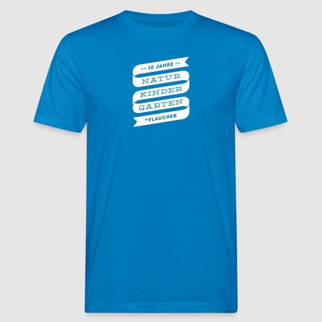 Männer-Shirt farbig mit Banderole