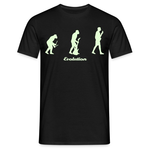 Rocker Tee ( Glow in the Dark) - Men's T-Shirt