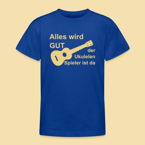 Kidshirt: alles wird gut (Motiv: beige) - Teenager T-Shirt