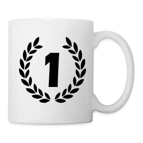 Mug a café numméro 1 (félicitation) - Mug blanc