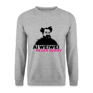 Ai Weiwei Never Sorry straight - Männer Pullover