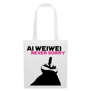 Ai Weiwei Never Sorry Fuck - Stoffbeutel