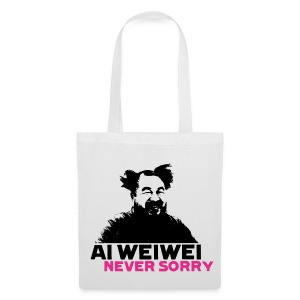 Ai Weiwei Never Sorry straight - Stoffbeutel
