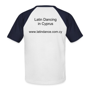 Latin Dancing in Cyprus - Men's Baseball T-Shirt