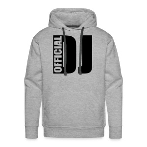 THE DJ - Sweat-shirt à capuche Premium pour hommes