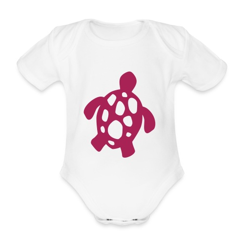Wasserschildkröte - Baby Bio-Kurzarm-Body