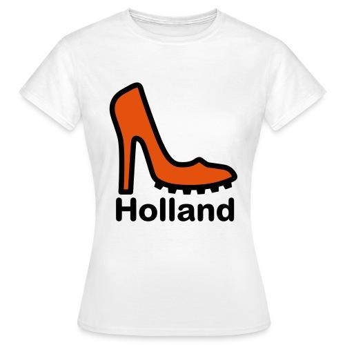 Ek t-shirt dames high heel holland - Vrouwen T-shirt