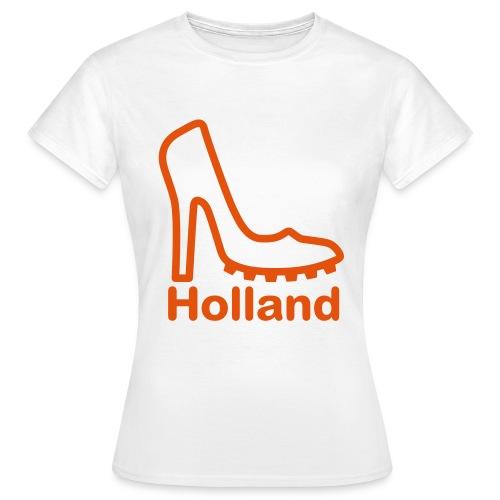 Ek t-shirt dames high heel holland 2 - Vrouwen T-shirt