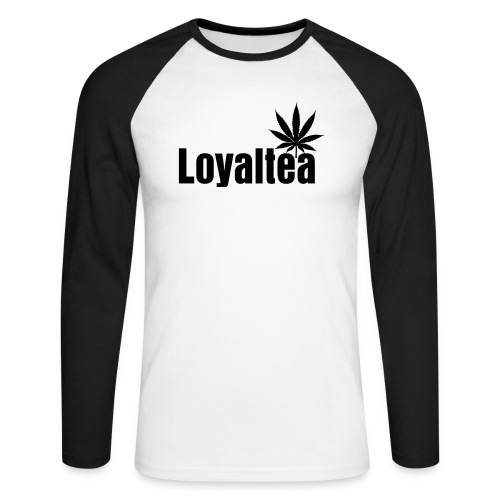 Loyaltea on a long sleeve shirt - Men's Long Sleeve Baseball T-Shirt