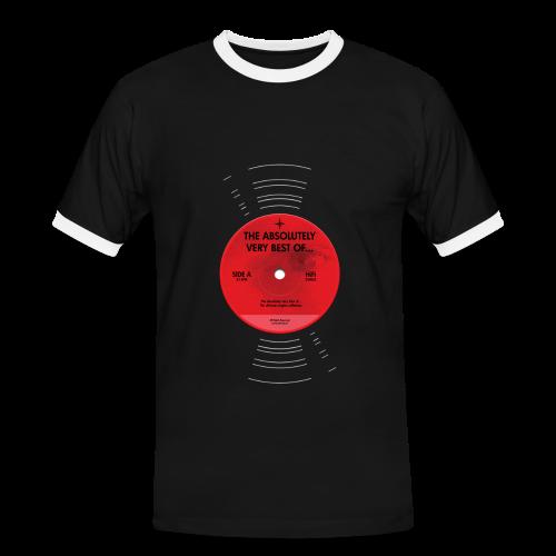 Plaat (contrastshirt) - Mannen contrastshirt