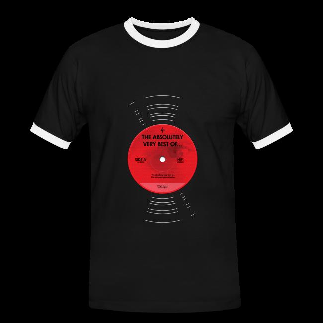 Plaat (contrastshirt)