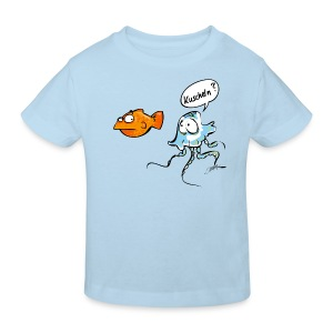 Kuscheln? - Kinder Bio-T-Shirt