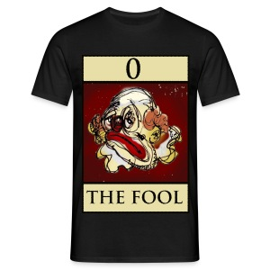Tarot, Black T Shirt, The Fool - Men's T-Shirt