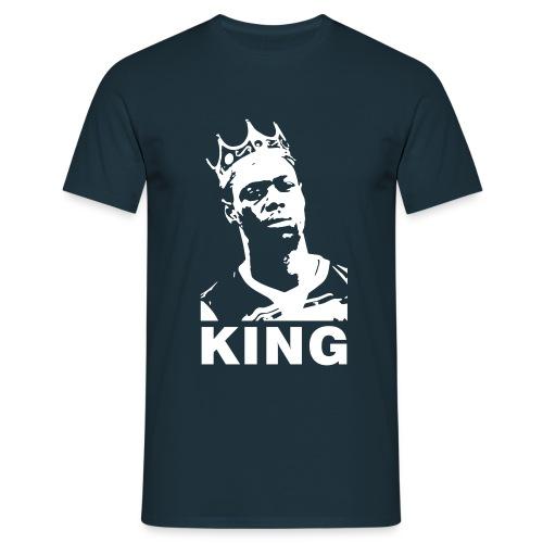 God Save the King - Navy T-Shirt - Men's T-Shirt