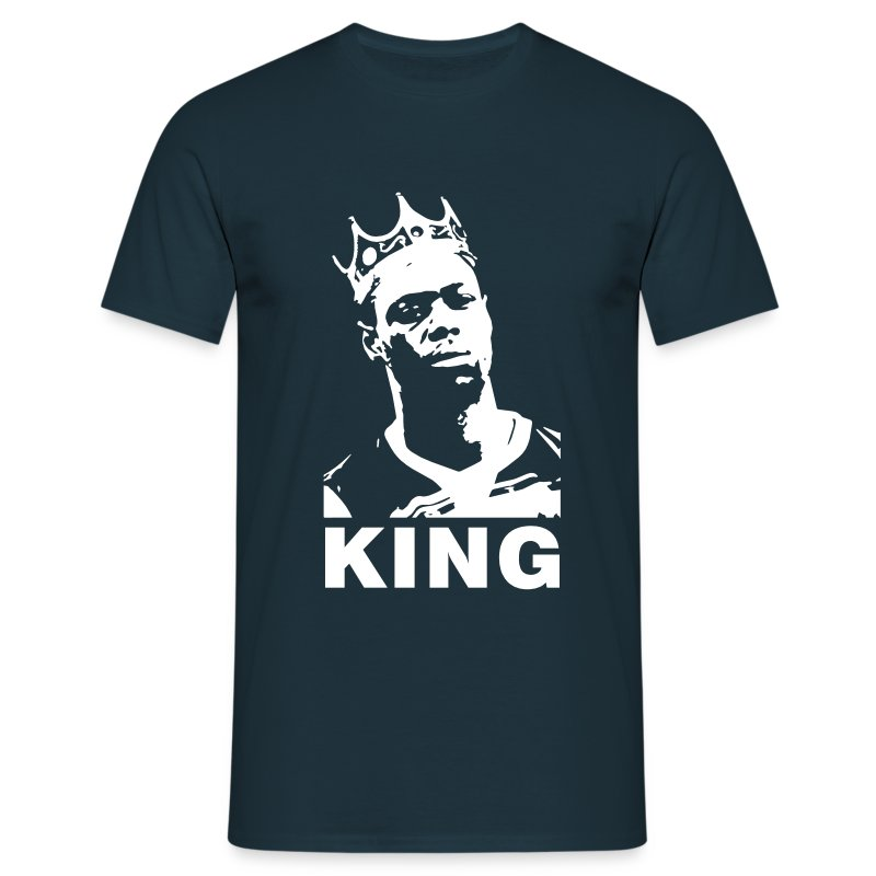 God Save the King - Navy T-Shirt - Men's T-Shirt