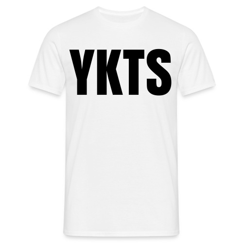 YKTS - Classic White - Men's T-Shirt