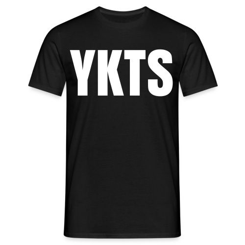 YKTS - Classic Black - Men's T-Shirt