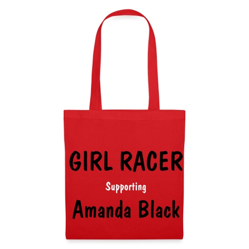 Pink Girl Racer Bag - Tote Bag