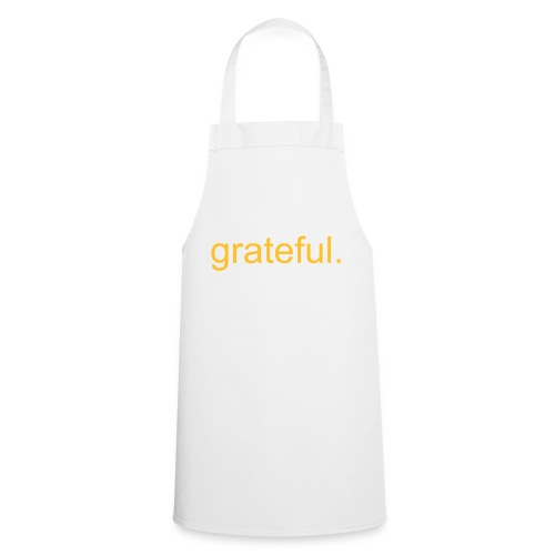 grateful for my kitchen - Cooking Apron