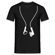Tee shirts ~ Tee shirt Homme ~ TS HEADPHONES