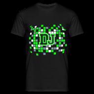 Tee shirts ~ Tee shirt Homme ~ TS DJ FLUO VERT