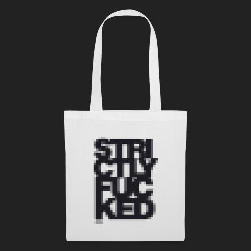 No. 1 Pixel Stoffbeutel - Black - Stoffbeutel