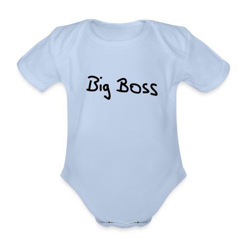 Big Boss - Baby Bio-Kurzarm-Body