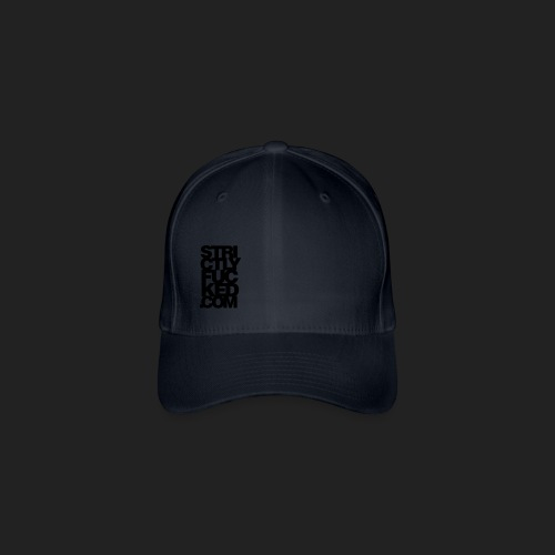 No. 1 Cap Black - Flexfit Baseballkappe