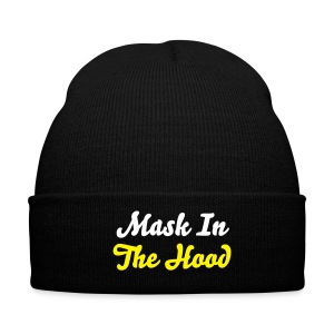 Mask in the hood - Winter Hat