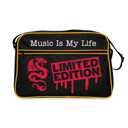 Music Is My Life Retro Bag - Retro Bag