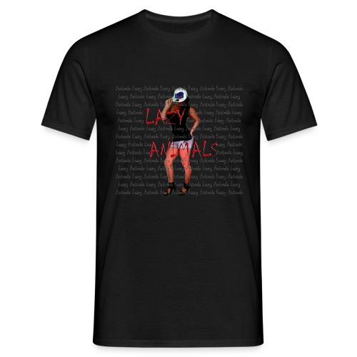 Lazy-Chick - Männer T-Shirt