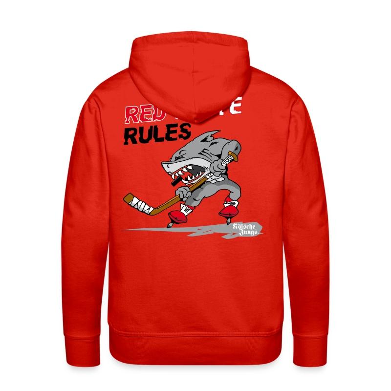 Red White Rules - Männer Premium Hoodie