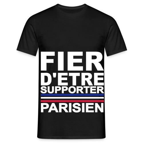 Tee shirt classique Homme Fier d'être Supporter parisien - T-shirt Homme