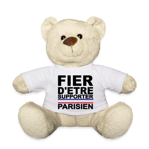Nounours Fier d'être Supporter parisien - Nounours