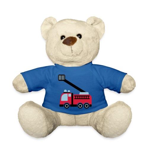 Nounours - pompiers,peluches,ourson,ours,enfants,camion,bébé,bleu,18,112