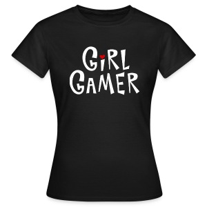 June's Girl Gamer shirt (for CHICKS) - Women's T-Shirt