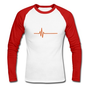 LOW KEY - Men's Long Sleeve Baseball T-Shirt