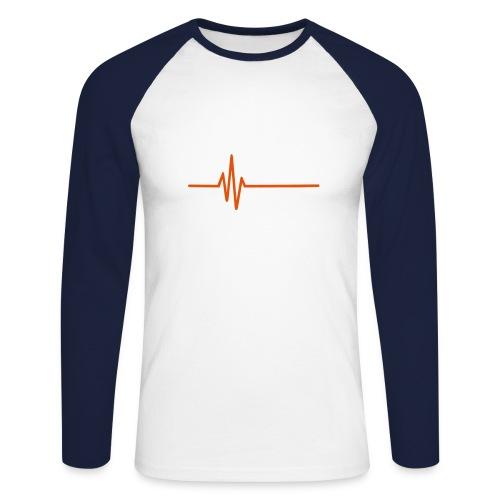 LOW KEY - Men's Long Sleeve Baseball T-Shirt